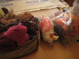 毛糸と原毛