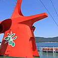 小豆島へのフェリー
